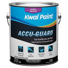 shop kwal white semi gloss latex interior paint actual net