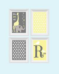 Giraffe Nursery Decor Awesome Wall Name Gallery Wall Design Leftofcentrist
