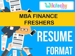 Sample Resume For Freshers Mba Finance And Marketing Resume Mba Finance Fresher Resume Sample Resume Resume