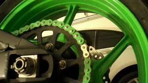 sprocket and chain installation on a 07 08 kawasaki zx6r part 3 4