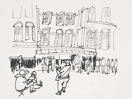 all my sketches from urban sketchers symposium singapore 2015