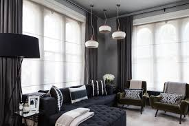 Curtains With Grey Walls Curtains With Blinds Living Room Ideas U0026 Photos Houzz