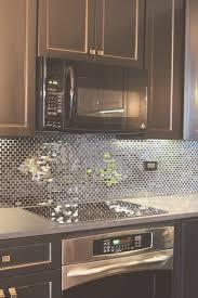 mirrored backsplash in kitchen backsplash mirror backsplash kitchen artistic color decor