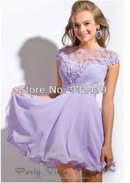 graduation gowns for sale lilac high neckline chiffon floral cape sleeve mini homecoming