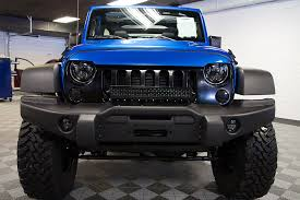 custom jeep bumpers custom jeep wrangler hydro blue aev tubeless front bumper 176927