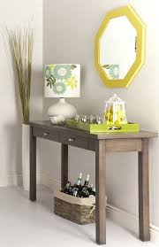 entry way furniture ideas table alluring modern entryway table creditrestore us mirrored