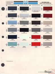 acura paint chart color reference
