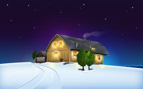 wallpaper 3d for house 3d holidays christmas wallpapers hd