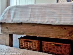 Simple Diy Bed Frame Bed Frame Simple Wood Bed Frame Plans Wooden Bed Frames U201a Wood