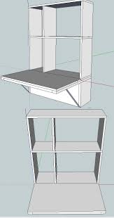 Diy Corner Computer Desk Plans by Best 20 Wall Mounted Computer Desk Ideas On Pinterest Laptop