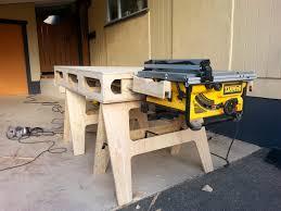 dewalt jobsite table saw accessories dewalt table saw accessories fresh the paulk workbench workbench