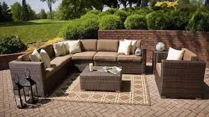 Patio Furniture Covers Toronto - outdoor rattan sofa furniture youtube