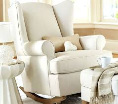 Pottery Barn Seat Cushions Wingback Glider Chair Cushions Wingback Glider Rocking Chair