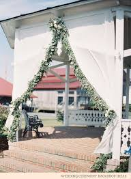 wedding backdrop ideas with columns wedding ceremony backdrop ideas 1 jpg