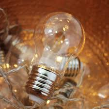 light bulb string lights lightbulb string fairy lights by posh totty designs interiors