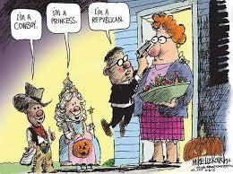 Republican Halloween Meme - cartoon of the day oct 14th 2013