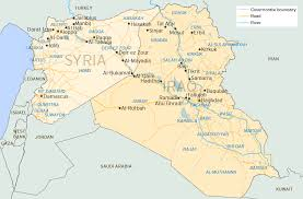 download syria and iraq map major tourist attractions maps
