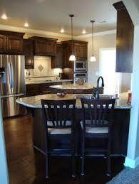 Dark Walnut Kitchen Cabinets by Im In Love With These Colors Traditional Dark Wood Walnut Kitchen