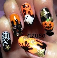 imagenes de uñas decoradas de jalowin fotos de uñas de halloween pintar uñas halloween halloweennails