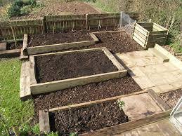 Vegetable Beds Gardens Sorted Raised Vegetable Beds