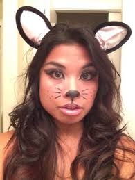 Halloween Kitty Costumes Simple Cat Makeup Halloween Cat Costume Face Makeup Makeup