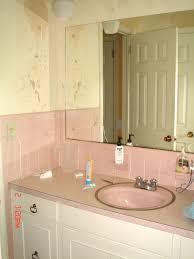 Yellow And Pink Bathroom Pink Bathroom Progress One Couple U0027s Journey Through Diy Home