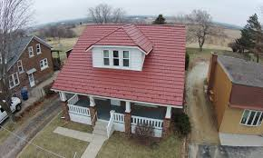 roof stunning metal shingle roof beautiful house plans with
