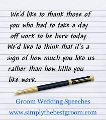 wedding speeches speech guide groom