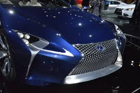 pictures of lexus lf lc lexus lf lc and lf cc on display at the la auto show which one do