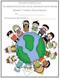 around the world hanukkah kwanzaa reader s theatre and