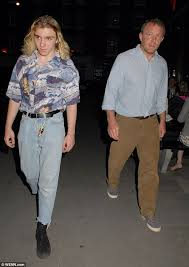 rocco ritchie channels madonna u0027s 80s style on night out with dad