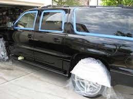 paint color sanding shown by the car detailing expert