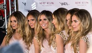 heidi klum halloween clone costume photo video time com