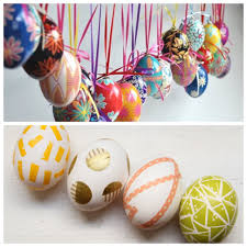 Large Hanging Easter Egg Decorations by Diy Easter Egg Tree And Hersheys Bunnytrail Candy Giveaway Go