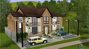 mod the sims starter four plex apartment building