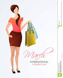 s day shopping international womens day celebration with stock
