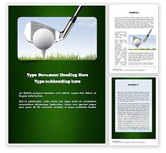 17 golf certificate templates for word painted horses border