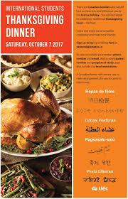 langara international education events canadian thanksgiving