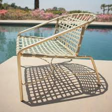 Best Way To Paint Metal Patio Furniture Home Brown Jordan