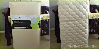 Best Eco Friendly Crib Mattress Mattresses Organic Crib Mattress Pads Naturepedic Organic