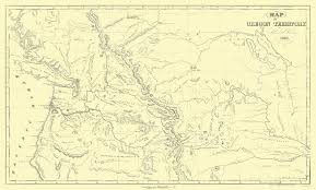 Map Of Astoria Oregon by Old State Map Oregon Territory Parker 1838