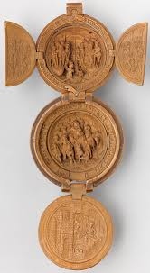 Miniature by 16th Century Miniature Boxwood Carvings That Fit In The Palm Of