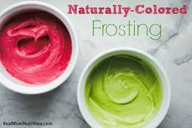 naturally colored frosting real mom nutrition