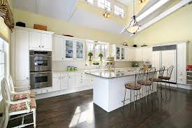 yellow kitchen walls white cabinets 80 farmhouse kitchen ideas photos home stratosphere