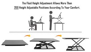 versa stand up desk defiance pro 32 height adjustable standing desk converter defy desk