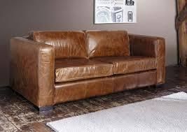 canapé lit cuir quel style de canapé convertible pour votre intérieur