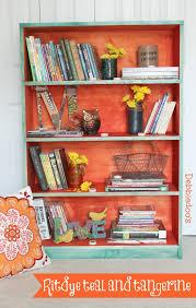 Will Rit Dye Stain My Bathtub Painting A Book Shelf With Rit Dye Debbiedoos