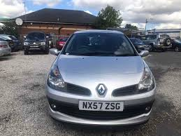 renault clio 2007 2007 renault clio 1 4 16v dynamique 3dr 1prev owner new shape