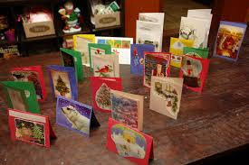 booturtle u0027s show and tell recycle old christmas cards into new