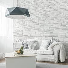 papier peint leroy merlin chambre ado papier peint brique blanche pour deco merlin mur castorama